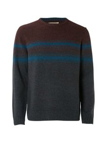 White Stuff Grader Stripe Crew Knit