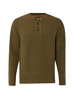 Martin baseball neck knit