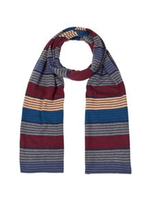 White Stuff Marvin stripe scarf
