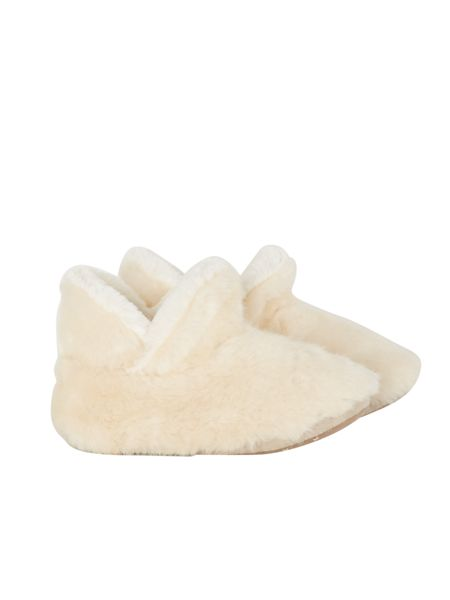 White Stuff Short Fur Bootie