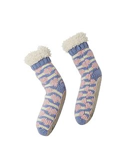 Boucle Heart Slipper Sock