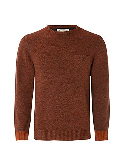 Crater Pocket Crew Knit