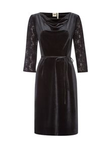 White Stuff Night Lark Velvet Dress