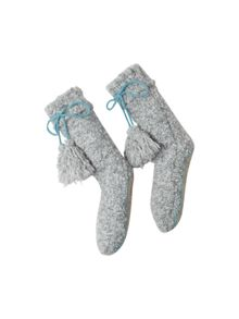 White Stuff Loopy Lou Slipper Sock