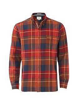 Billow Flannel Check Long Sleeve Shirt