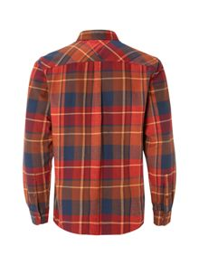 White Stuff Billow Flannel Check Long Sleeve Shirt