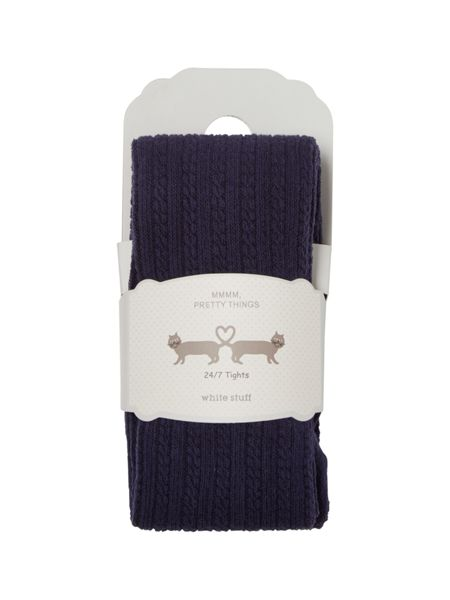 White Stuff Cara Cable Tights