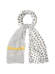White Stuff Busy Bee Scarf