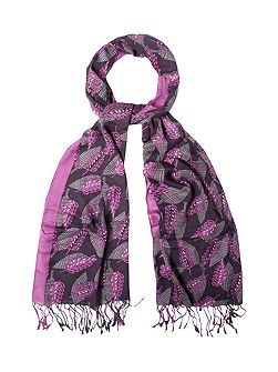 Copenhagen Leaves Scarf