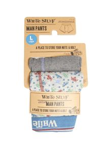 White Stuff Bike Print Multipack Boxers