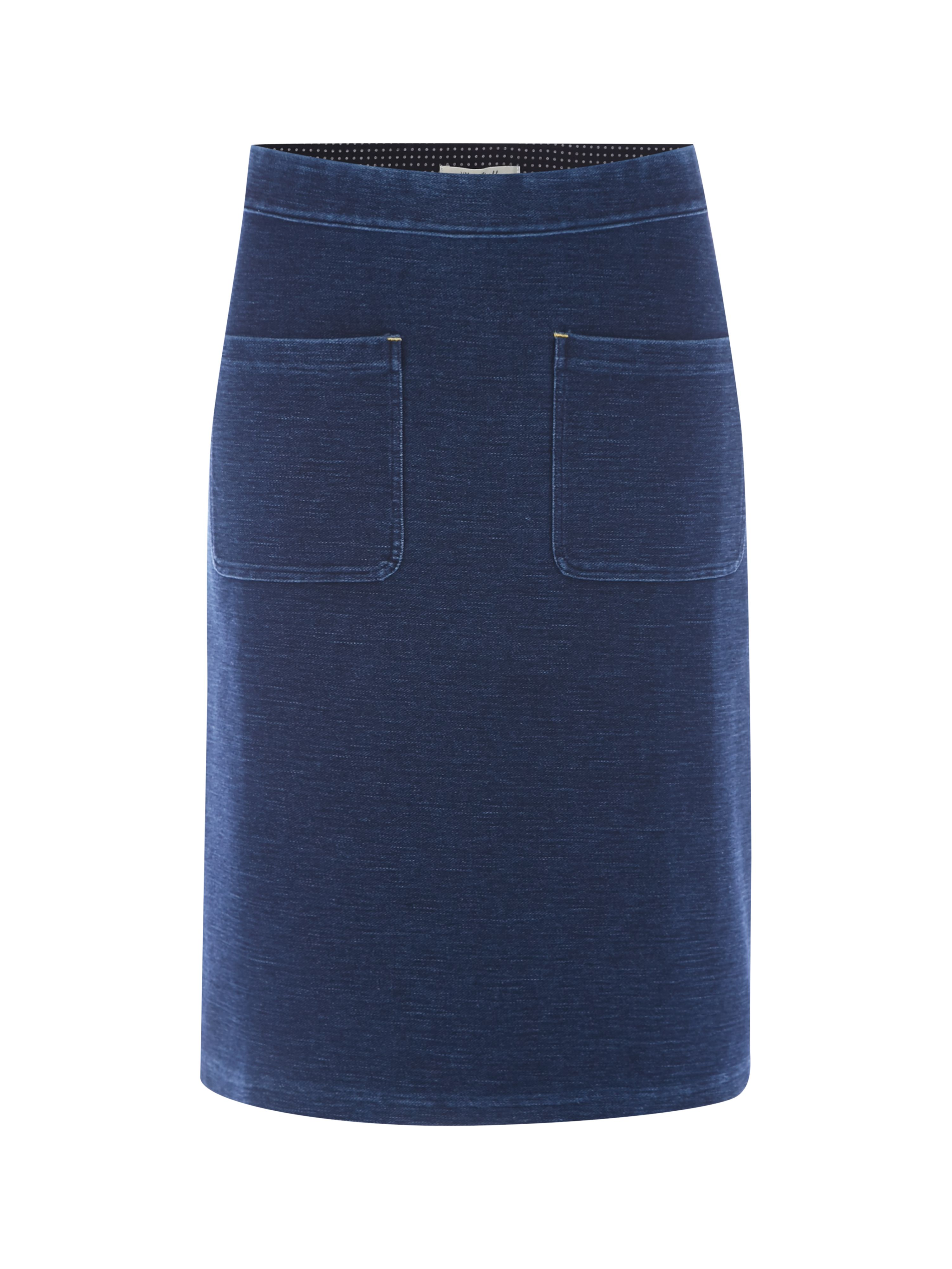 White Stuff Kilmory Pocket Skirt, Denim