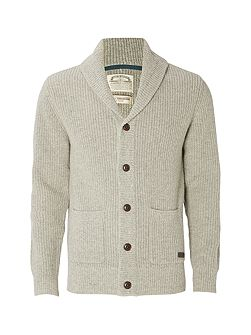Wallis Shawl Rib Cardigan Knit