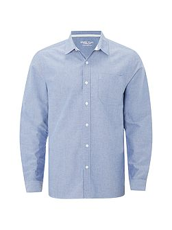 Plain Oxford Long Sleeve Shirt