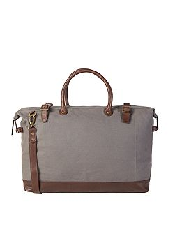Mark canvas holdall