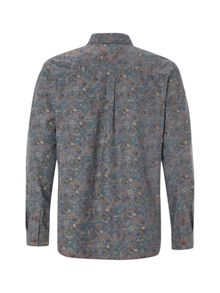 White Stuff Fauna Print Long Sleeve Shirt