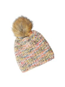 White Stuff Spacedye Bobble Hat