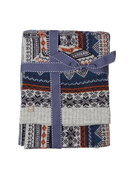 White Stuff Jimmy fairisle gift set