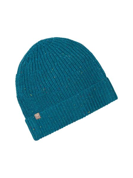 White Stuff Paul rib beanie hat