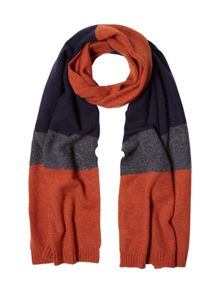 White Stuff Colourblock pop scarf