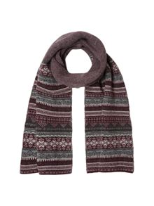 White Stuff Jimmy fairisle scarf