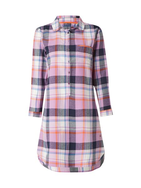 White Stuff Cosy Check Nightshirt