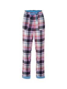 White Stuff Cosy Check Pj Bottoms