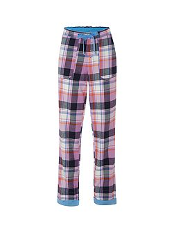 Cosy Check Pj Bottoms