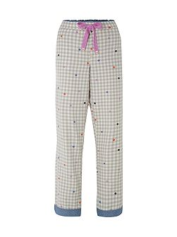 Gingham Pj Bottoms