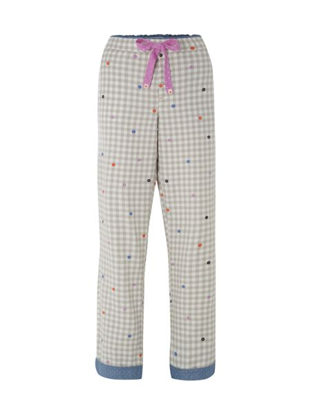 White Stuff Gingham Pj Bottoms