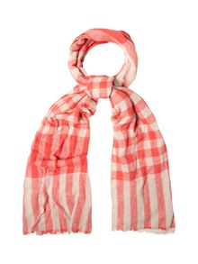 White Stuff Cate Check Midweight Scarf
