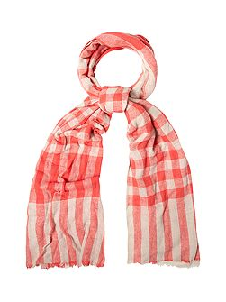 Cate Check Midweight Scarf