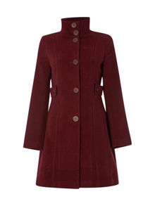 White Stuff Market Place Velvet Coat
