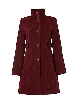 Market Place Velvet Coat