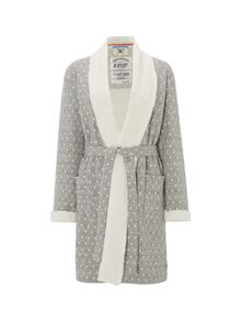 White Stuff Winter Nights Heart Robe