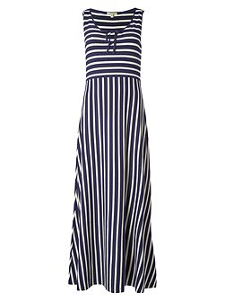 Luna Stripe Maxi Dress