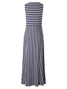 White Stuff Luna Stripe Maxi Dress
