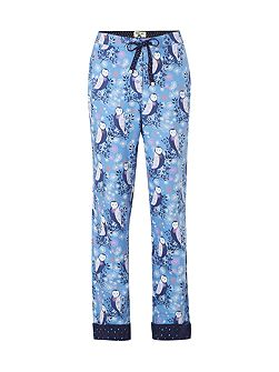 Winter Owls Pj Bottom