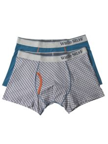 White Stuff Gull Geo Boxer Double Pack