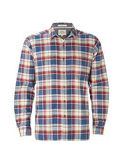Logan Flannel Check Long Sleeve Shirt