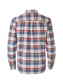 White Stuff Logan Flannel Check Long Sleeve Shirt