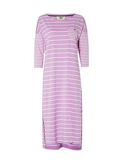 Winter Stripe Midi Nightie