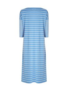 White Stuff Winter Stripe Midi Nightie