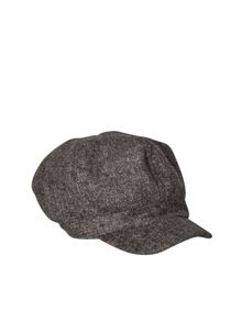 White Stuff Herringbone Baker Boy Hat
