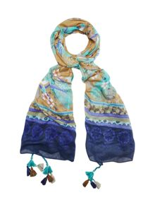 White Stuff Soaring Birds Scarf