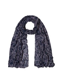 Shimmering Butterfly Scarf