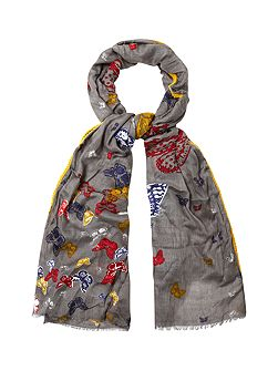 Social Butterfly Scarf