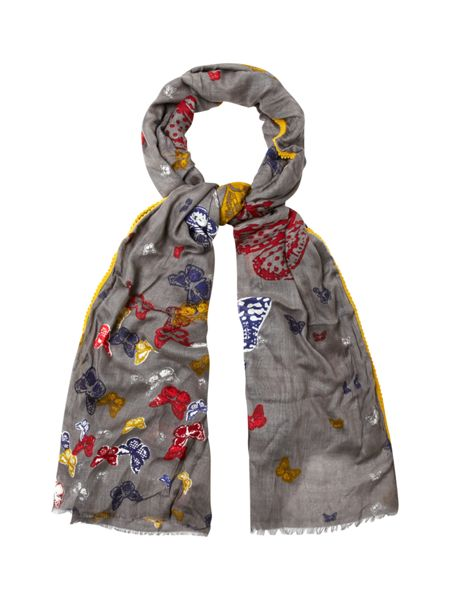 White Stuff Social Butterfly Scarf