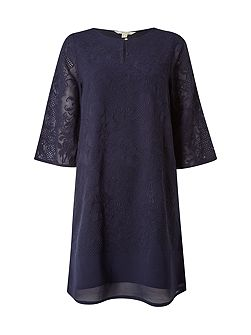 Iris Embroidered Dress
