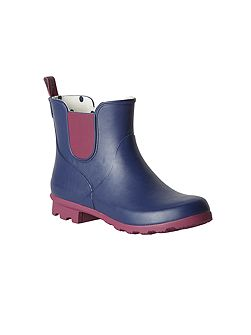 Colourblock Ankle Wellie