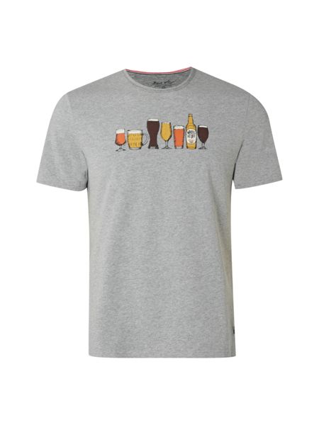 White Stuff Beer Glasses Graphic Tee